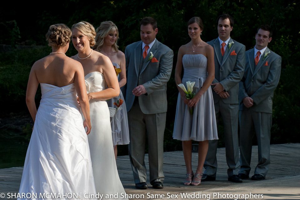 Randi and Kris' Same Sex Wedding