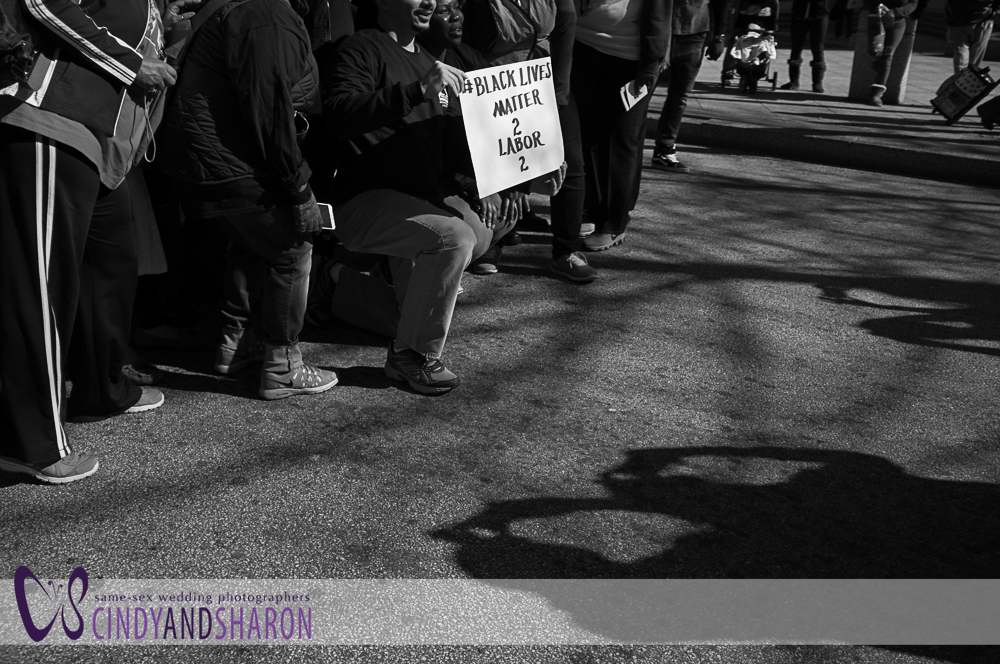 Martin Luther King Day March in downtown Atlanta