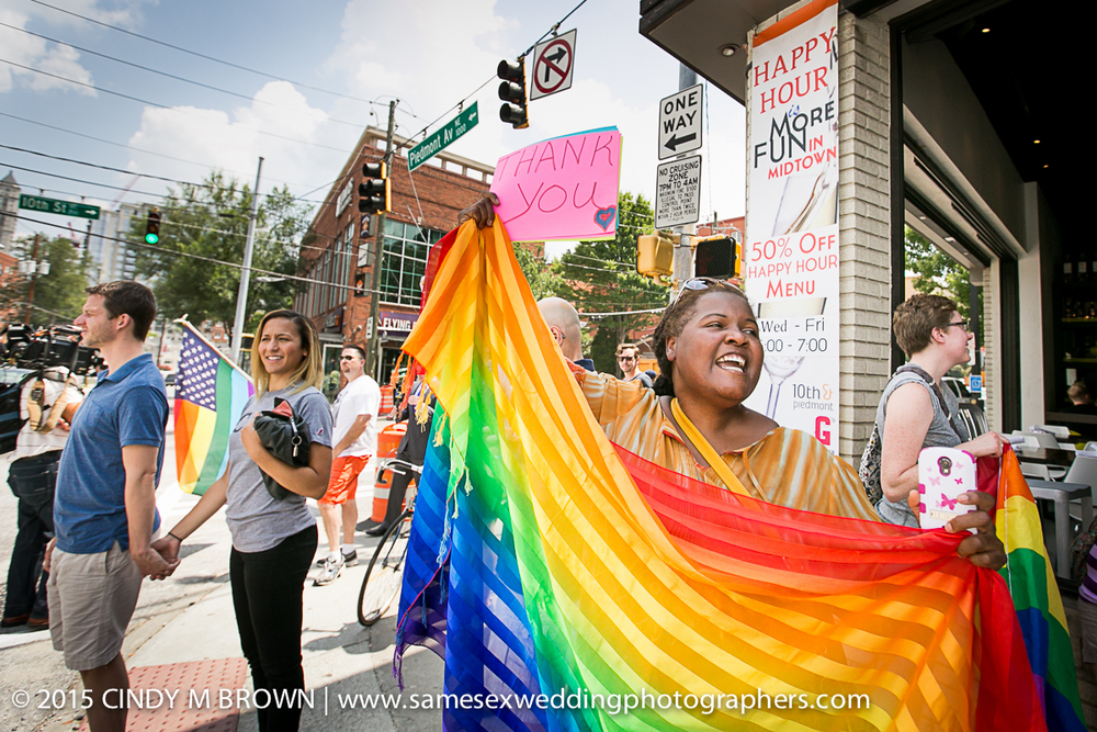 Marriage Equality Celebrations in Atlanta