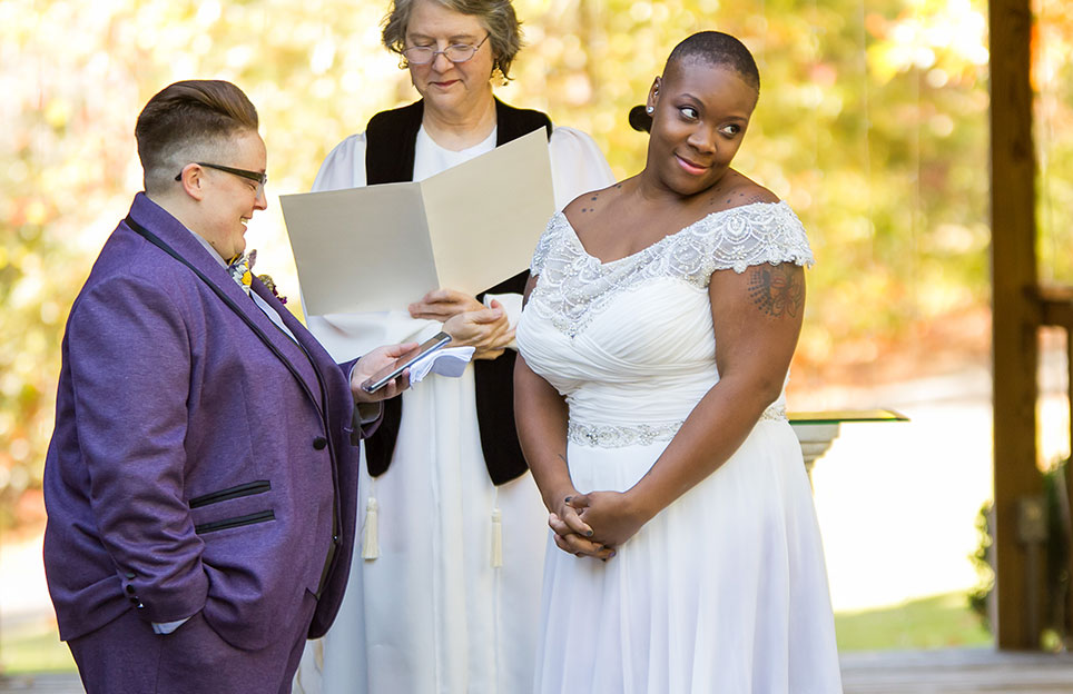 Georgia Mountain LGBT Wedding