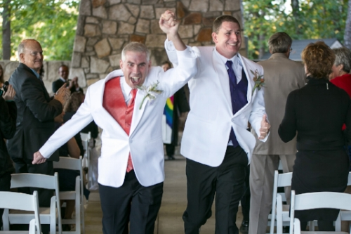 gay wedding photography Stone Mountain