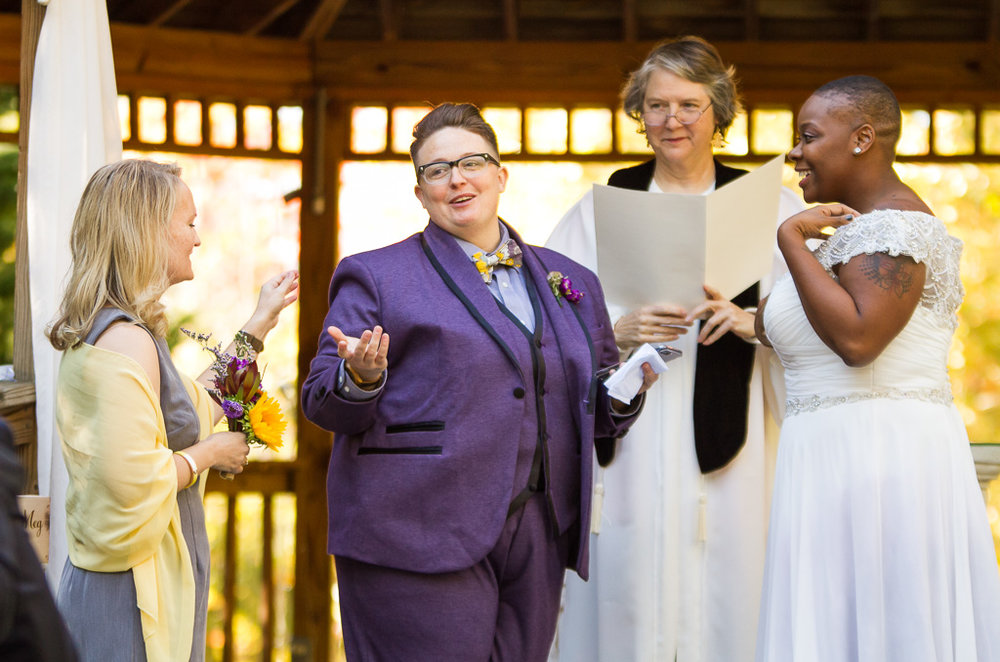 Meg and Kadesha's Forest Hills Resort Wedding