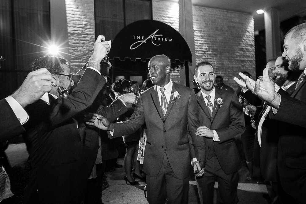 Jamie and Daniel's Atrium Wedding