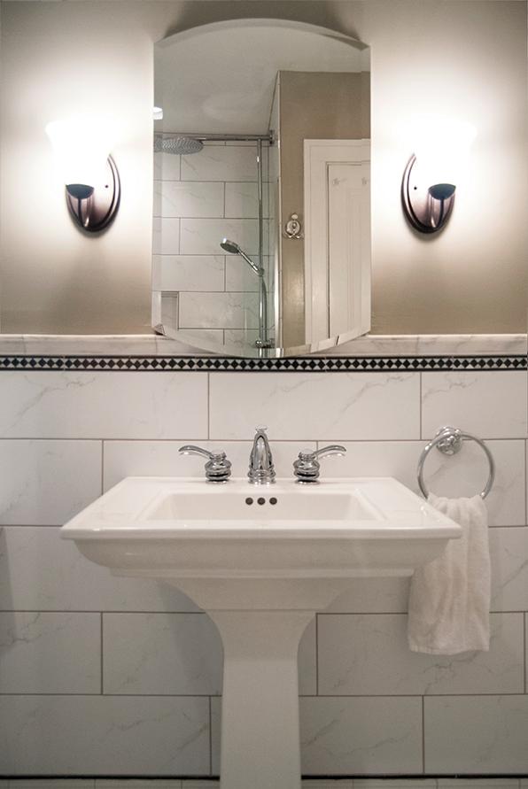 Historic, Elegant bathroom sink