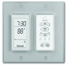 Programmable heated floor thermostat