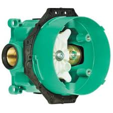 "Hansgrohe 3/4"" universal ibox rough-in; Has nailing flange to easily secure diverter."