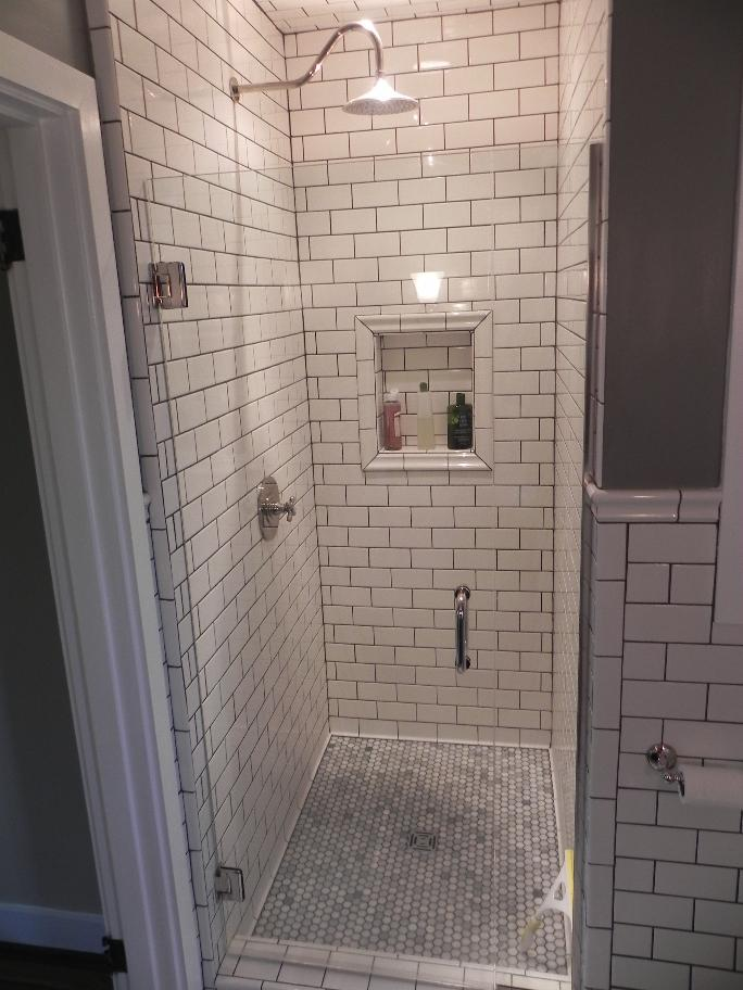 Recessed Shower Niches — Bathroom Renovations