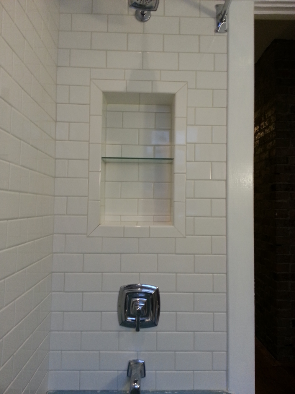 Recessed shower niches bathroom renovations 14 x 24 recessed niche dailygadgetfo Choice Image