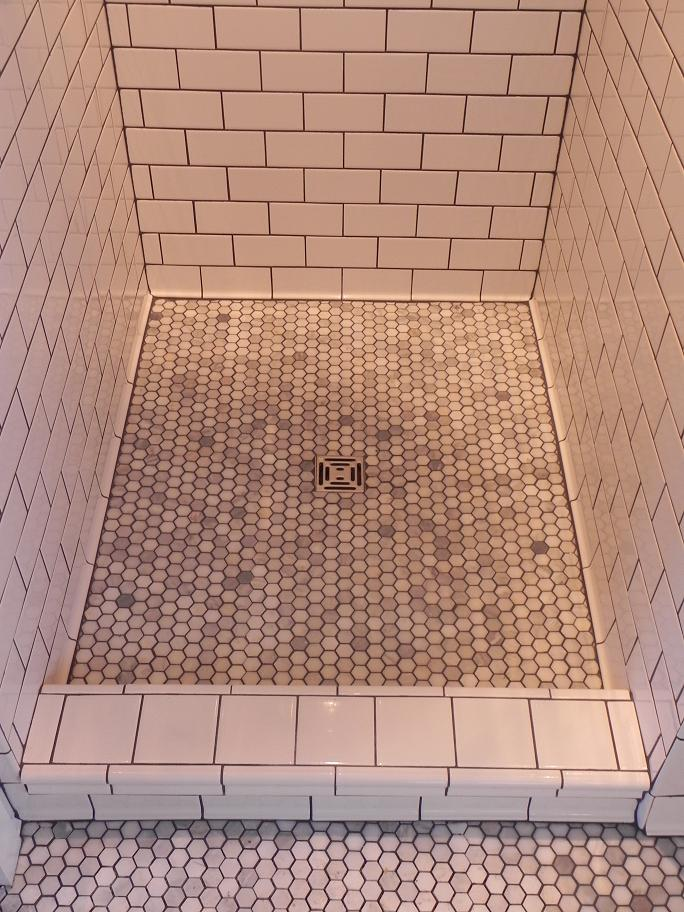 Well known Tiled Shower Floors — Bathroom Renovations YN58