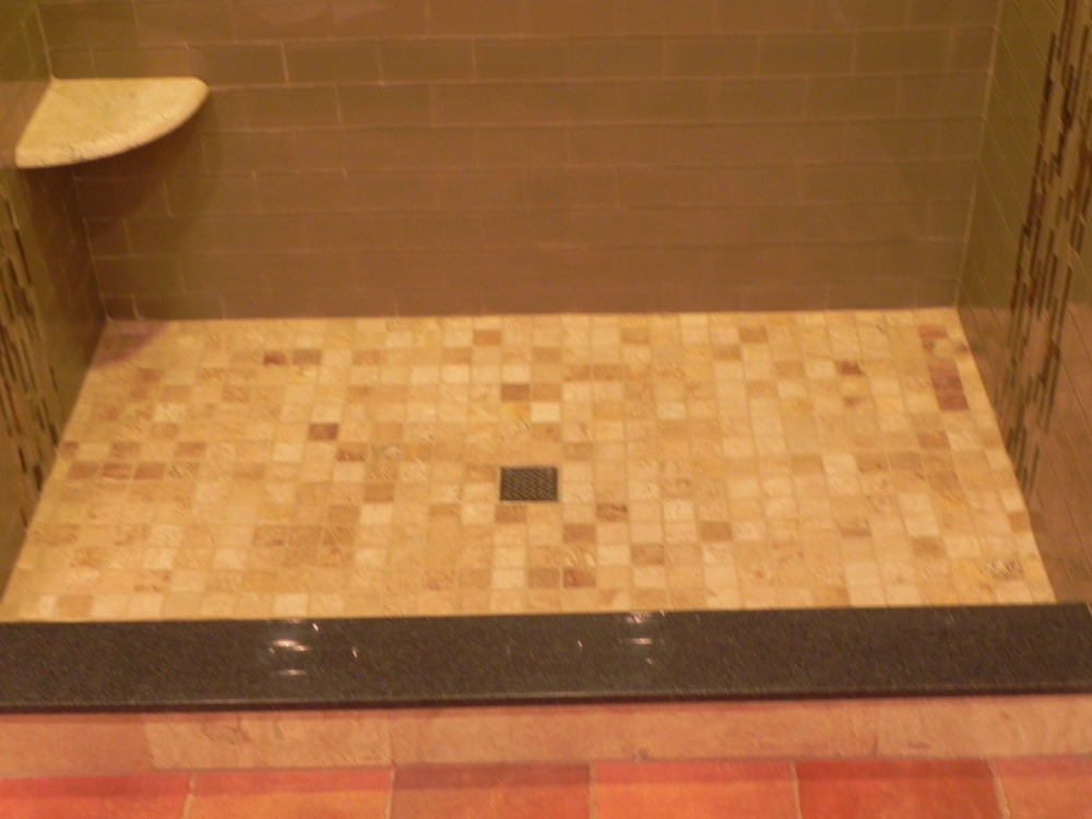 Tiled Shower Floors Bathroom Renovations