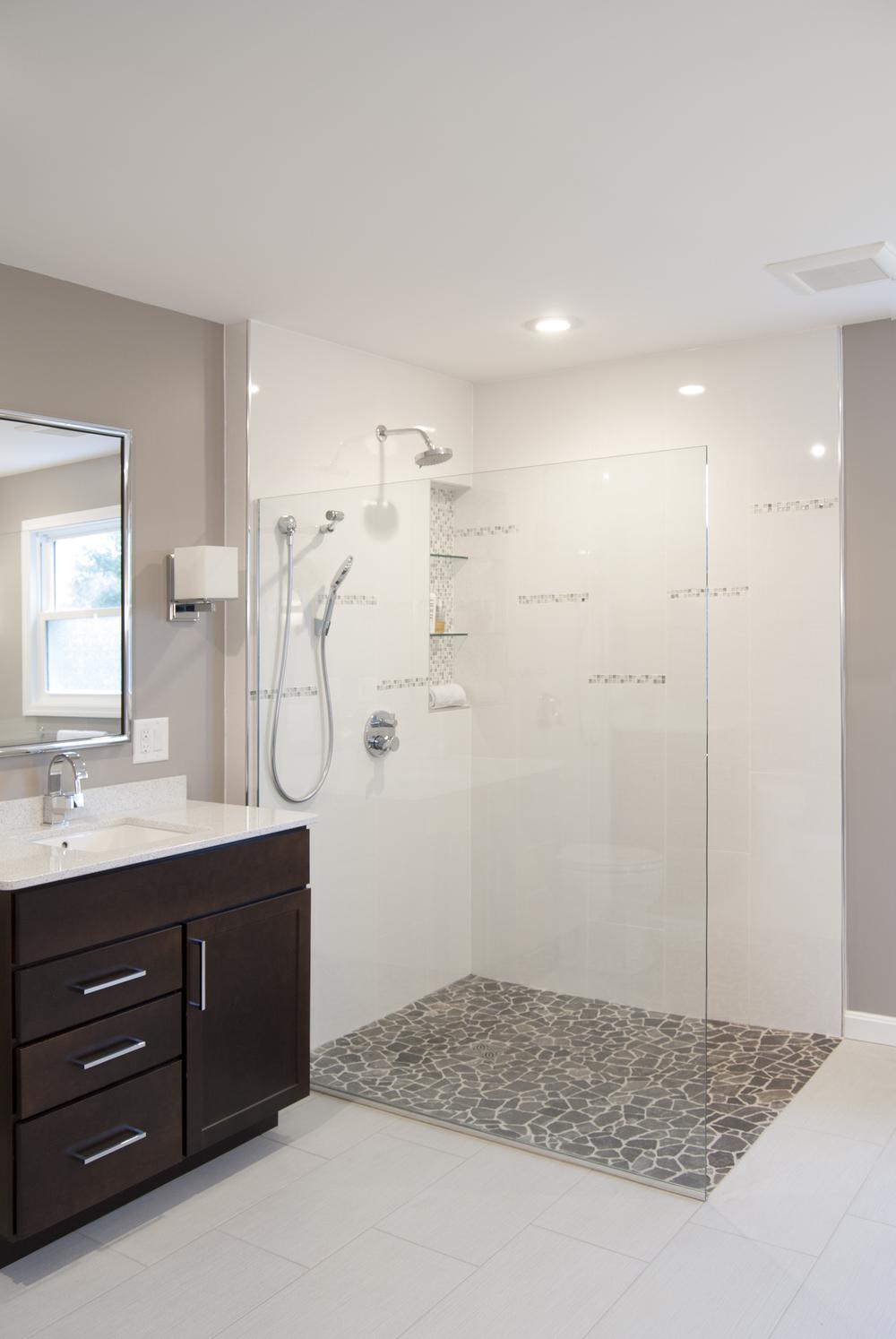 glass shower enclosures  u2014 bathroom renovations