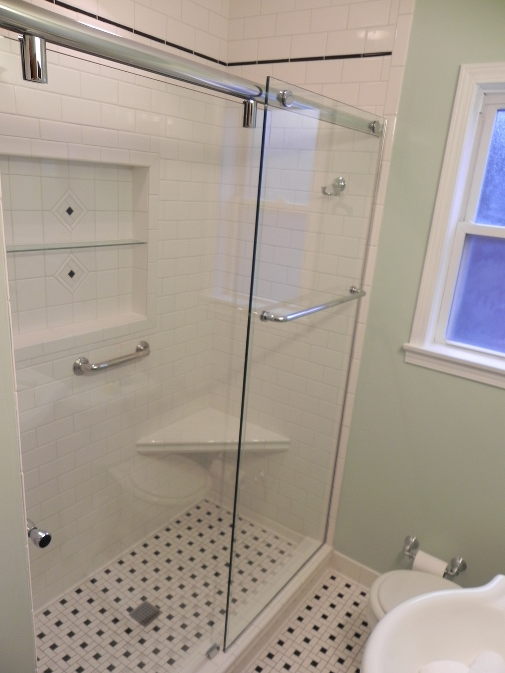 express doors portfolio bathroom and glass shower