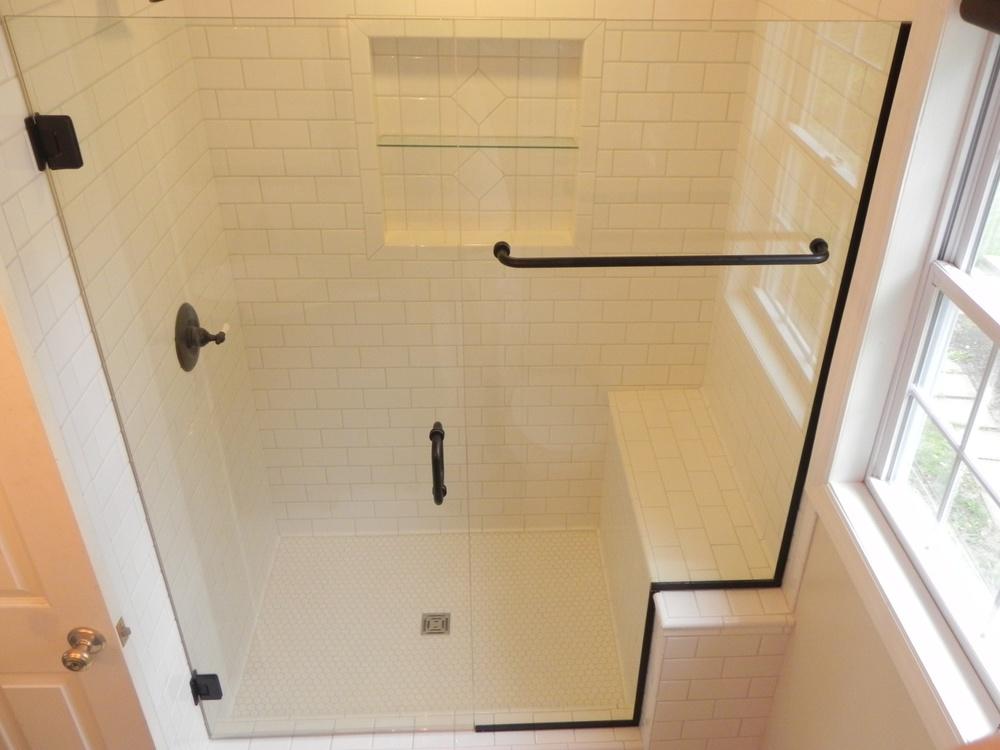 Glass shower enclosures bathroom renovations