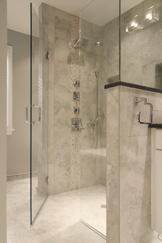 Modern natural bath