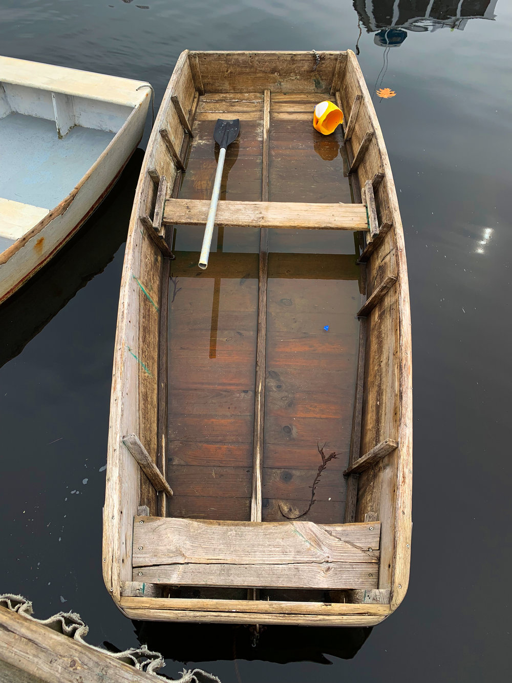 Brown Skiff, Perkins Cove