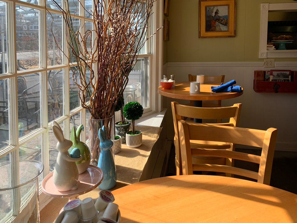 Breakfast at the Greenery Cafe, Ogunquit