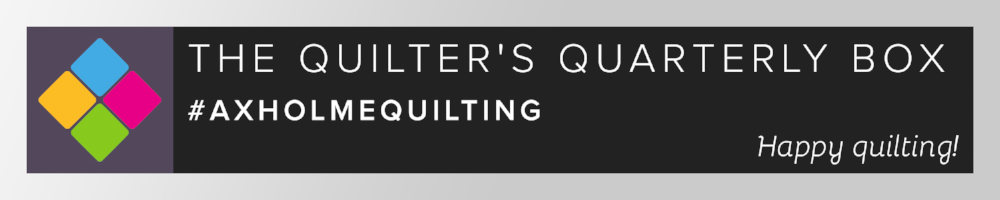 The Quilter's Quarterly Box