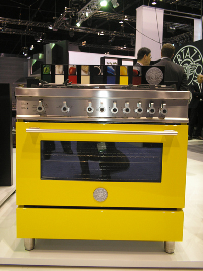 Great appliances from Italian company Bertazzoni.   KBIS Report: Dwell Blog