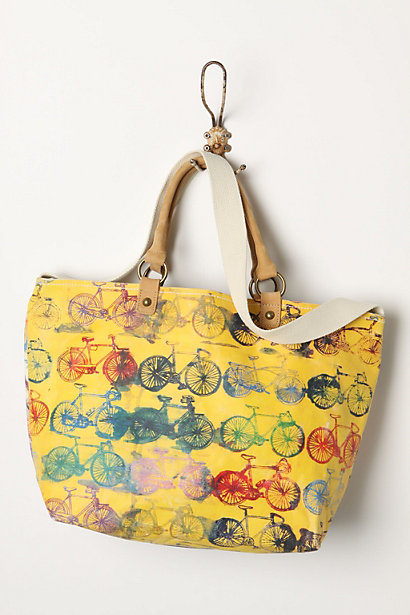 adore this bag! (via Painted Cycles Tote - Anthropologie.com)