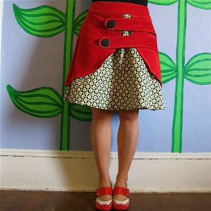 Really like the aesthetic of this etsy seller LoveToLoveYou.  Her use of corduroy layers in skirts is adorable.  And this skirt is only $70, which is pretty good for handmade. Check her out.