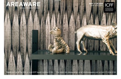 I wish I could have gone to the ICFF just to see this booth.   Areaware