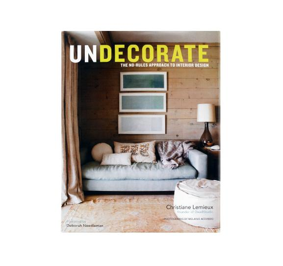 By the founder of Dwell Studio, this home book which pushes for less professionally-designed decor could be great or could be more of the same.  It is a profile of 20 homes, telling people how to use their own personality in their spaces…   (via  DwellStudio | UNDECORATE BY CHRISTIANE LEMIEUX )