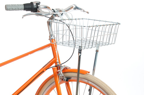I think this front basket will definitely be among one of the next things I buy for the bike.  Just need to decide on the size. They are all a very reasonable price at Public.    Wald 137 Medium Front Bike Basket
