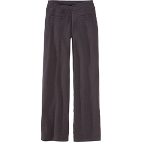 Don't usually pay $135 for pants, but these look great.  Warm and would stand up to winter biking…  I have an Ibex sweater that I love, so I'm guessing these pants would be equal quality. Black or brown both look useful. Izzi Pant - The Travelin' Girl - Gifts - Title Nine