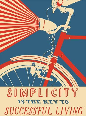 I love this poster that was in ReadyMade this month.  I wish I had one of these lights for my bike… Apartment Therapy Chicago | Five Poster Designs Inspired by The Great Depression Free Downloads from ReadyMade Magazine