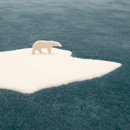 Global Warming Rug A timely and interesting home accessory that the commentors on dezeen totally missed the point of. Dezeen » Blog Archive » Global Warming Rug by NEL for Nanimarquina