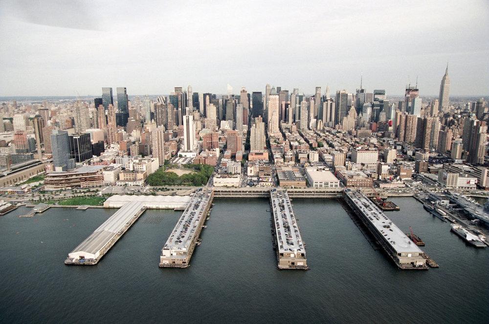 Pier 94 in Manhattan