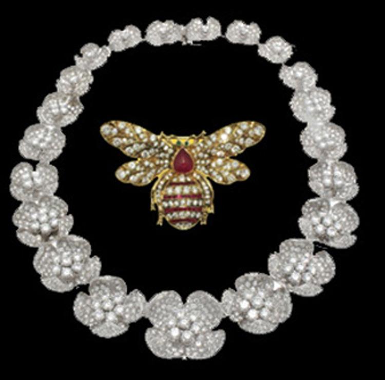 DIAMOND NECKLACE & BEE PIN.jpg
