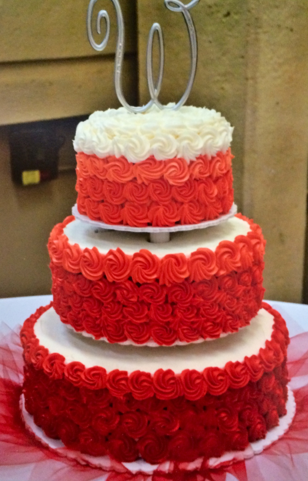wedding cake red wedding cakes wixey bakery 23659