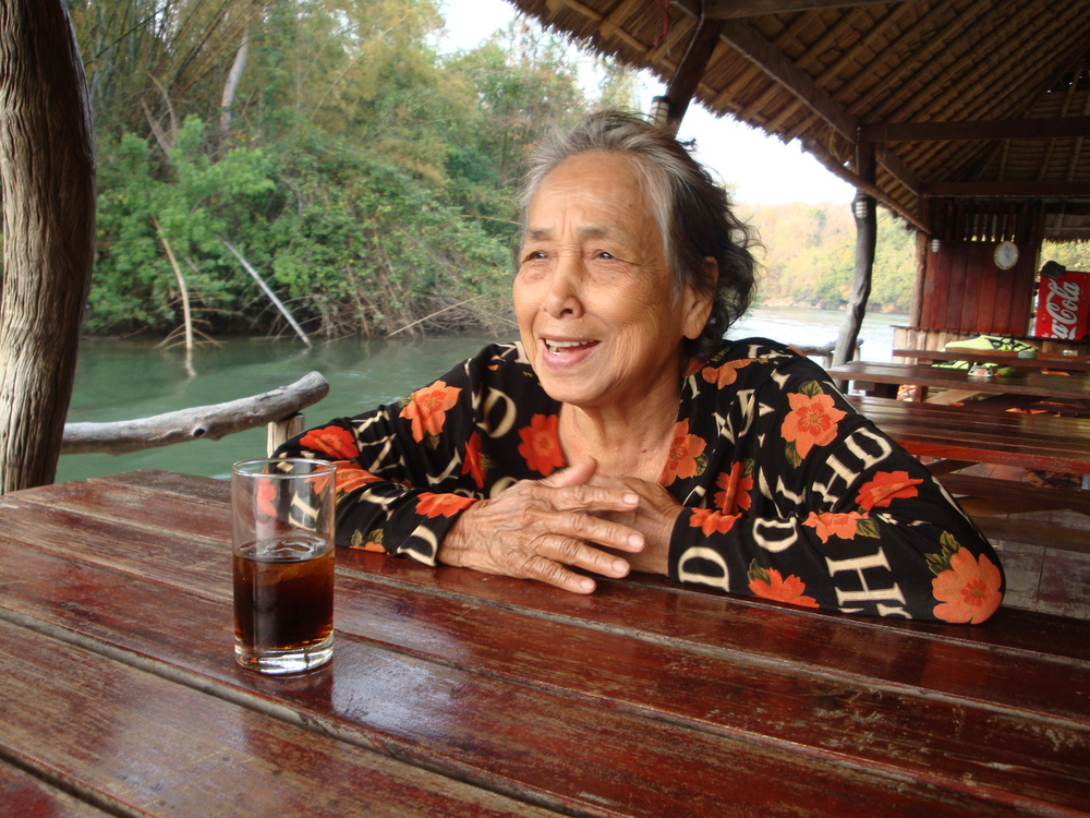 Grandma Ma Yai - Enjoying the Breeze