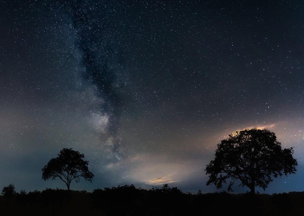 Milky Way - ( 1DX Mark II, 17mm, F4, ISO 3200, 25 sec )
