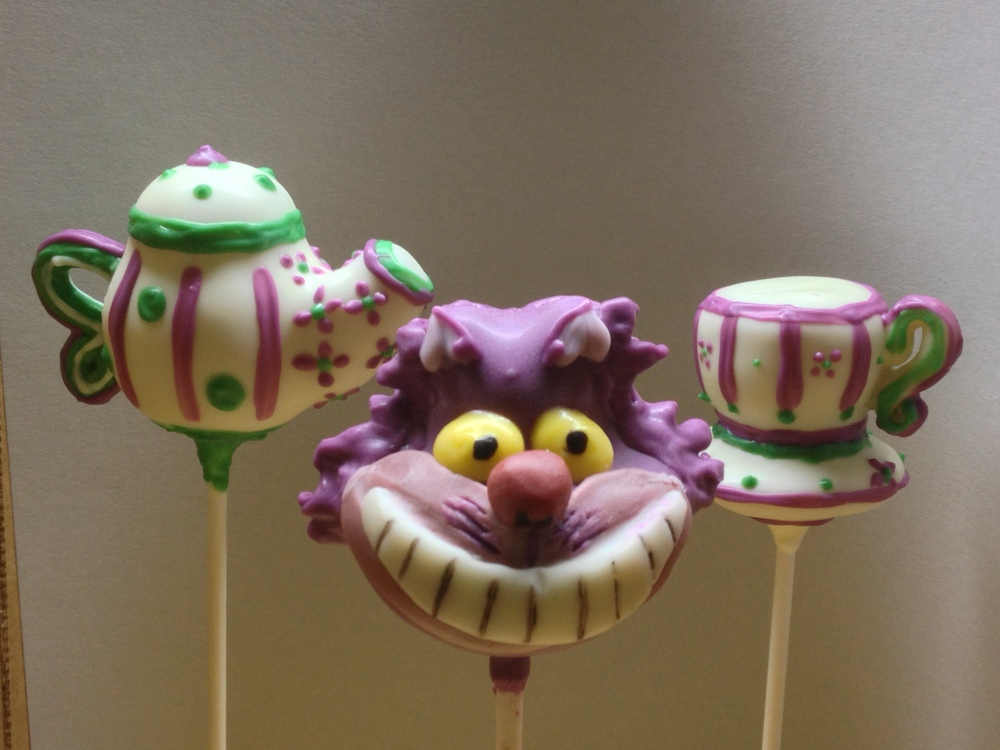 Cake Pops designed for any occasion by special order can make a theme party come to life!