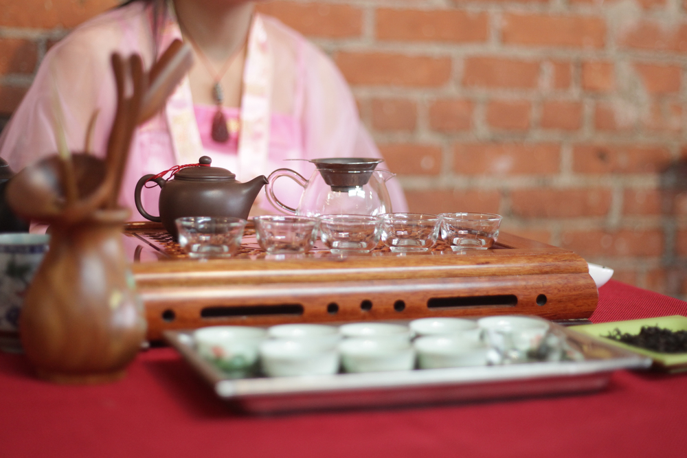 Traditional Chinese Tea Ceremony is a wonderful relaxing experience and our Tea Master provides us with the top quality high grade medicinal teas.