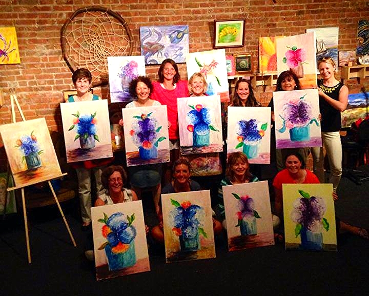Paint Classes with Ashley!