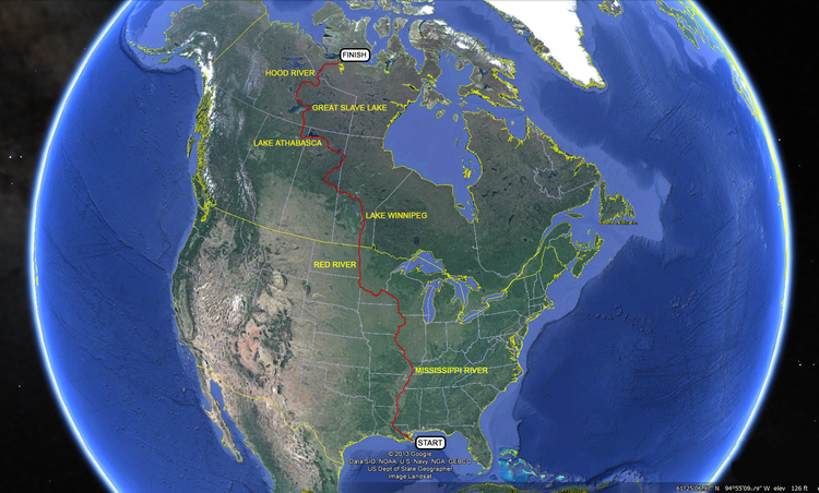 The Route Rediscovering North America A Journey From The Gulf - Canada and us map with gulf of mexico