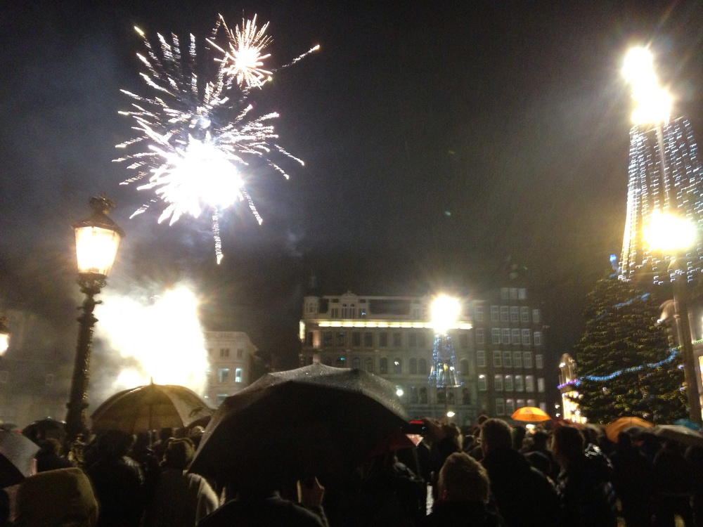 Dam Square, New Years Eve