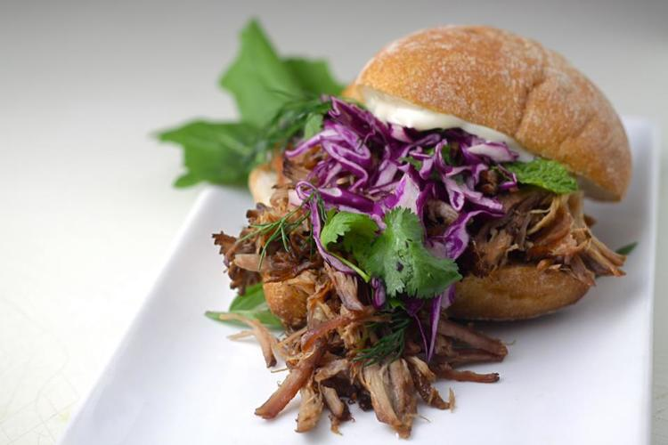 Adobo pulled pork