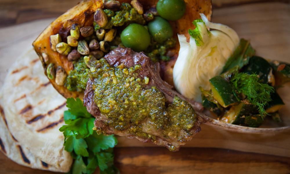 Modern Mezze Menu: Lamb Chops Smothered In Pistachio Tapanade U2014 Randwiches