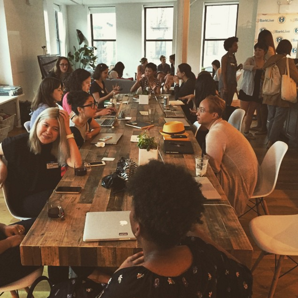 Look who came to work! Mentors from Buzzfeed, Emily Books, Of a Kind & more.