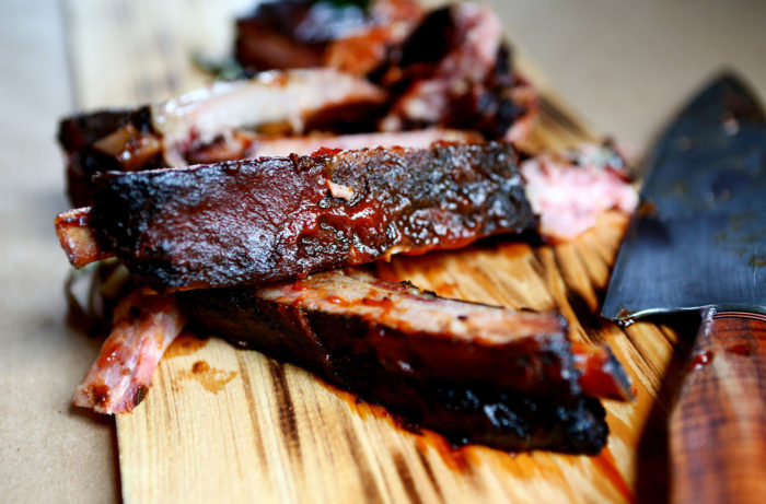 "Wine Enthusiast - ""Ribs with Red Wine Barbeque Sauce."" Writing, recipe development."