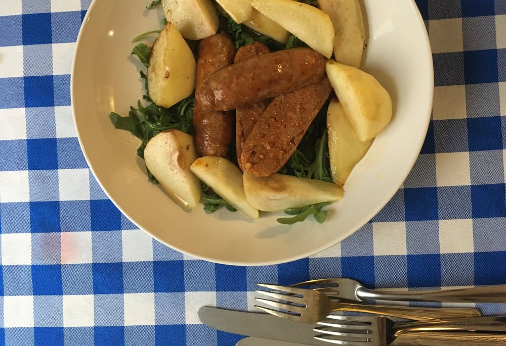 Fantasy Kitchen: Pears & Sausage in Oil from the Lies of Locke Lamora