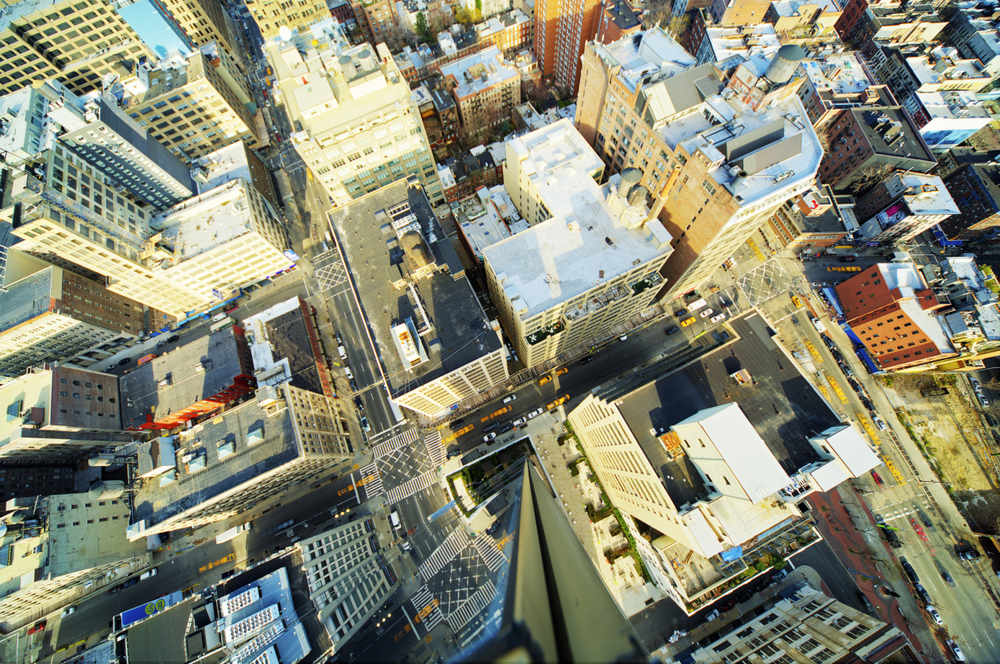 Our website's background image was shot from a penthouse, SoHo, NYC • Getty Images • Tony Shi Photography