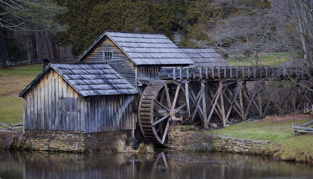 Mabry Mill | Blue Ridge Parkway, Virginia | Preston Grisham