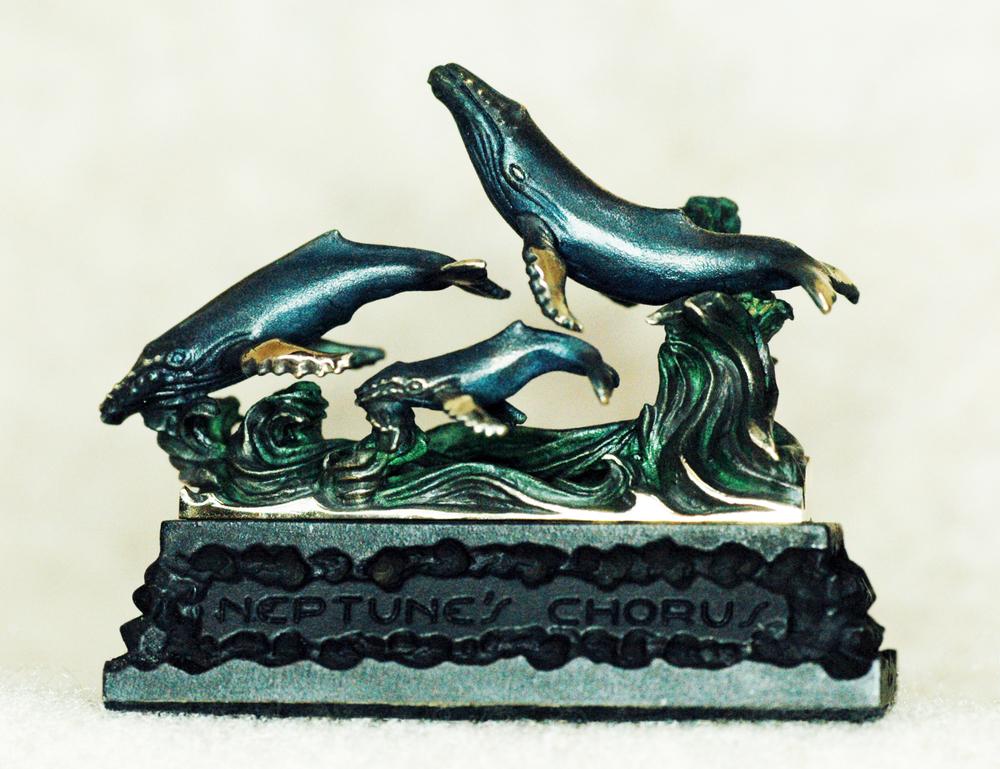 """Neptune's Chorus"" Humpback Whales $180"