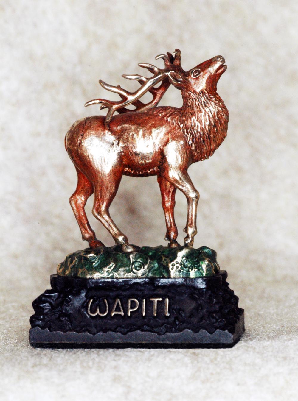 """Bronze Elk """"Wapiti"""" $180"""