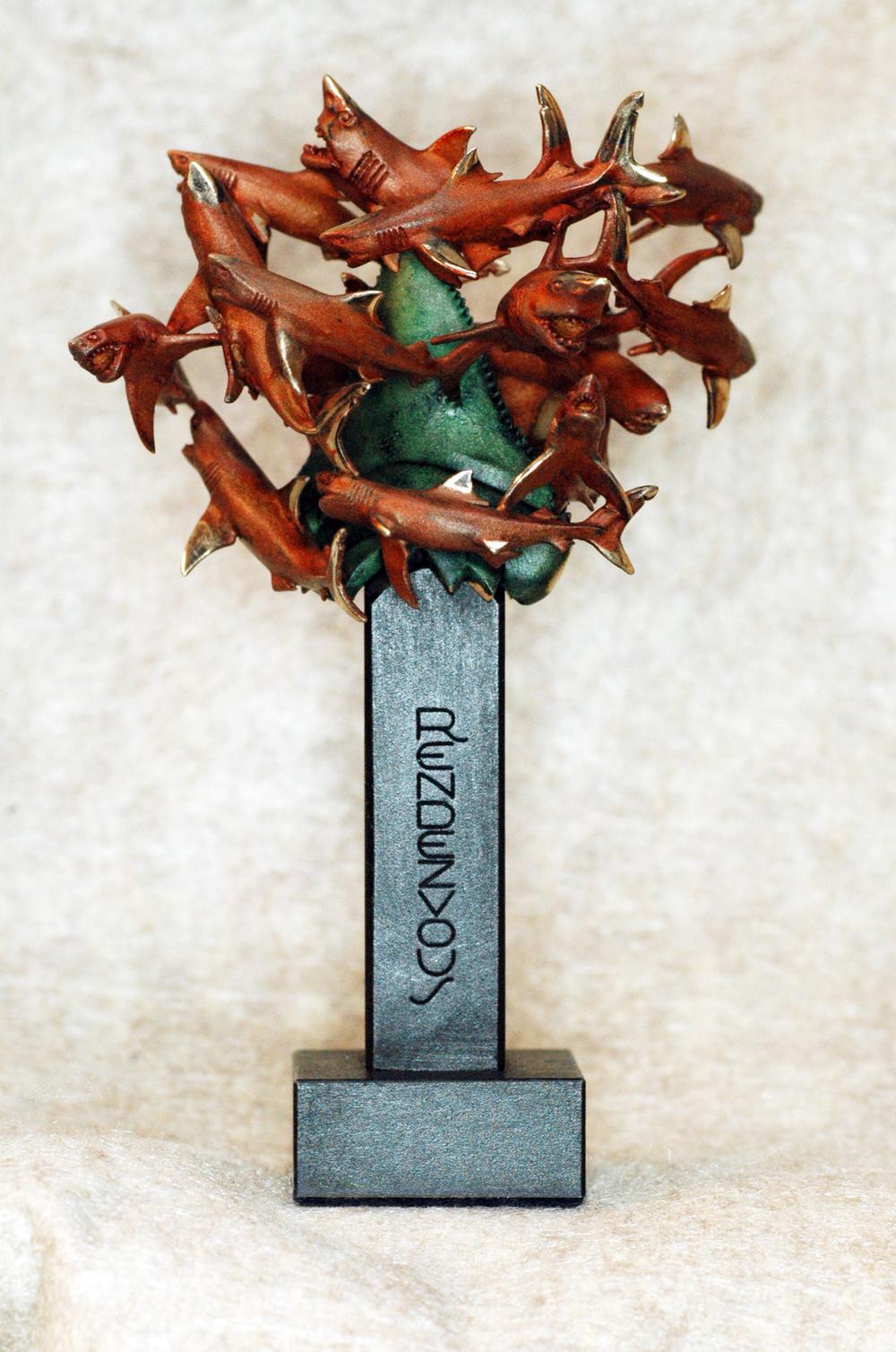 """""""Rendezvous"""" Bronze Artist Prototype $500"""